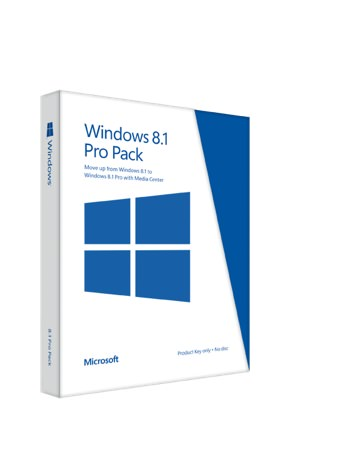 Windows 8.1 Pro Pack Boite