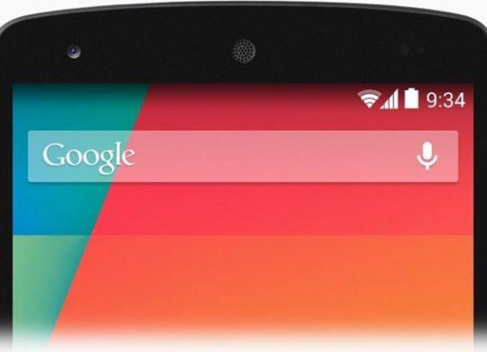 Android 4.4 Barre de Statut