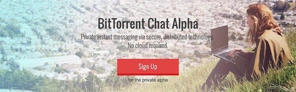 BitTorrent Chat Inscription