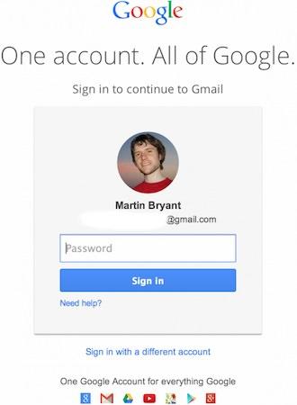 Gmail Nouvel Ecran Connexion