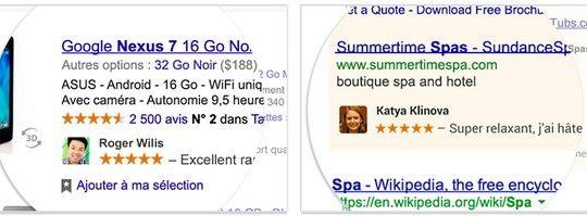Google Publicite Noms Photos Utilisateurs