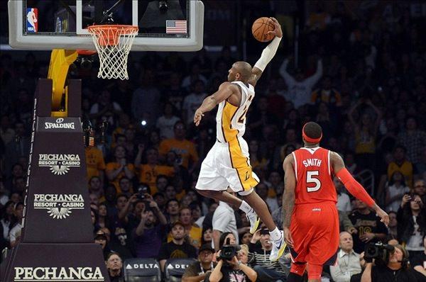 Kobe Bryant Basket Dunk