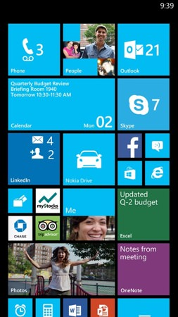 Windows Phone 8 3e MaJ Phablet