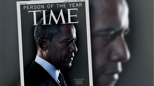Barack Obama Personnalite Annee 2012 TIME