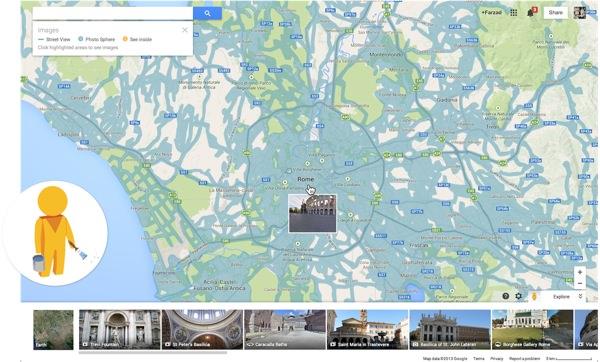 Google Maps Pegman Streetview