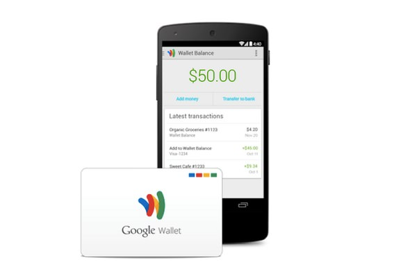 Google Wallet Carte de debit