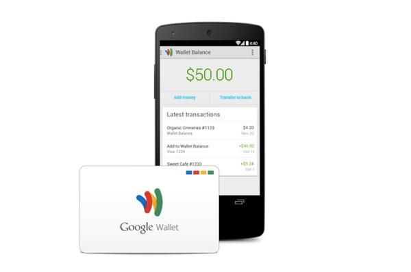 Google Wallet Carte de debit