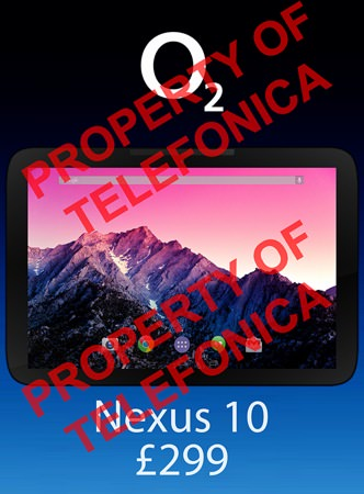 Nexus 10 2013 Fuite 2