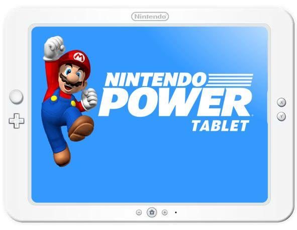 Nintendo Tablette Illustration