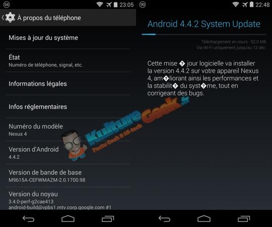 Android 4.4.2 Nexus 4