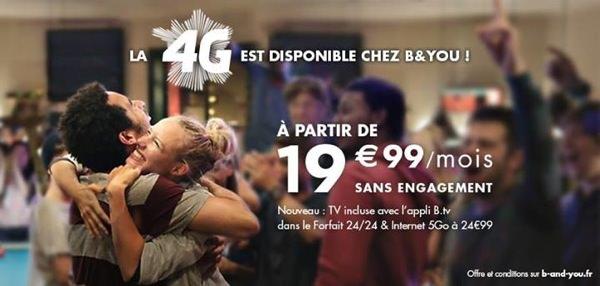 BandYou Forfaits 4G