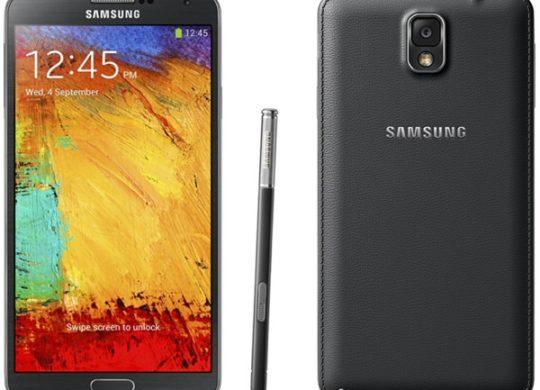 Galaxy Note 3 Noir