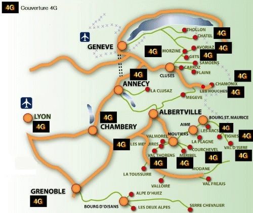 Orange 4G Alpes