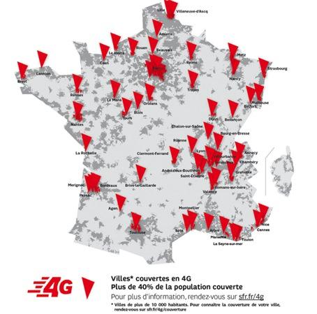 SFR 4G Couverture 31 decembre 2013