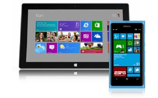 Windows RT Windows Phone