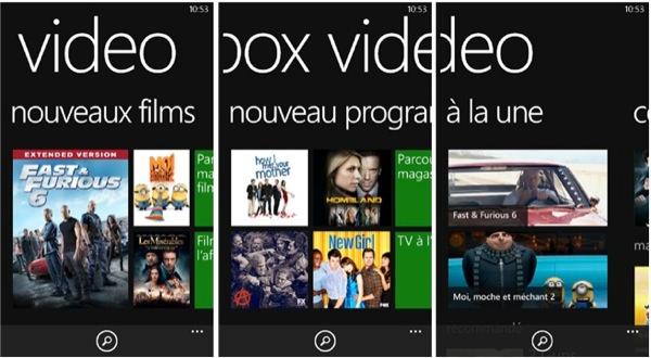 Xbox Video Windows Phone