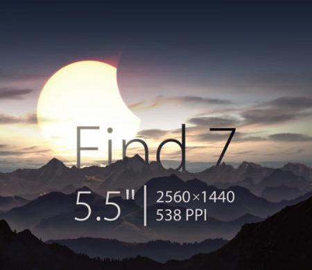oppo find 7 premier smartphone 2K