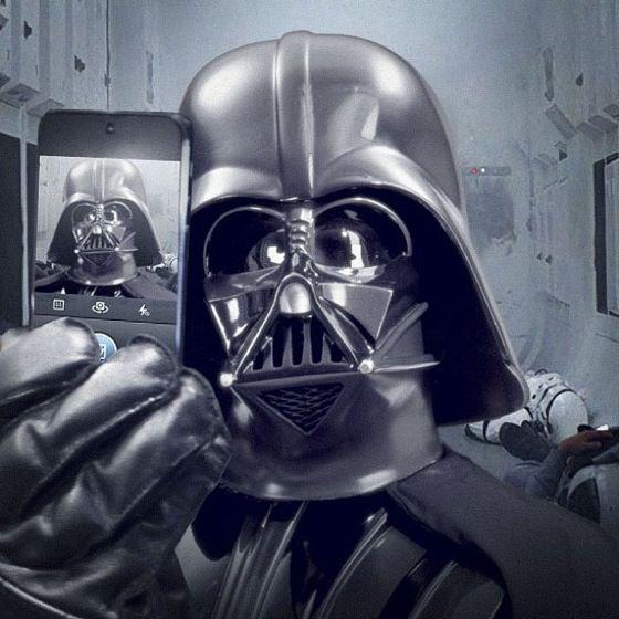 selfie dark vador instagram_2