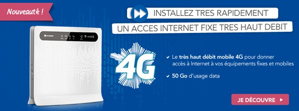 Bouygues Telecom Routeur 4G Entreprises