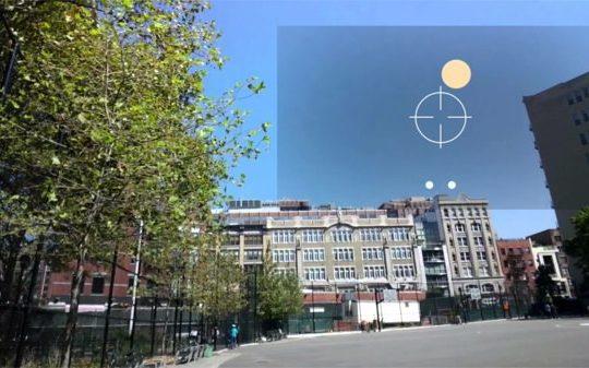 Google Glass Mini Jeu Tennis