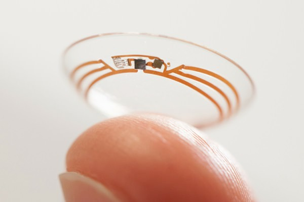 Google Lentille de Contact Intelligente Diabete