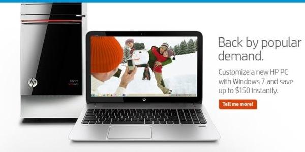 HP Promeut Windows 7