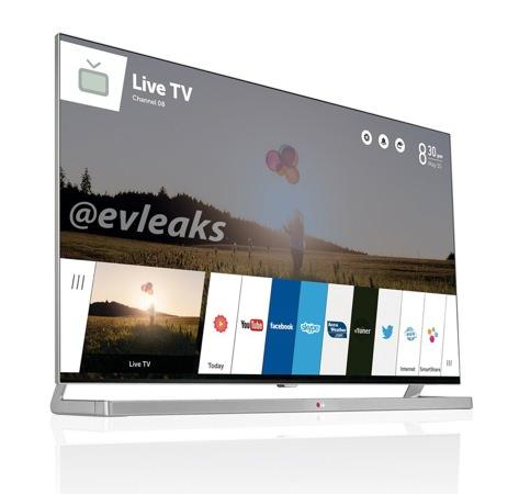 LG TV webOS Fuite