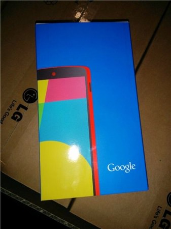 Nexus 5 Rouge Boite