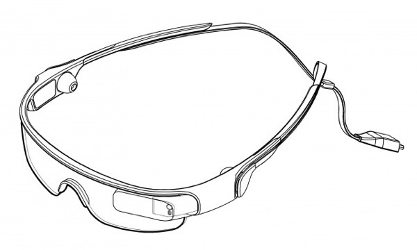 Samsung Galaxy Glass Brevet