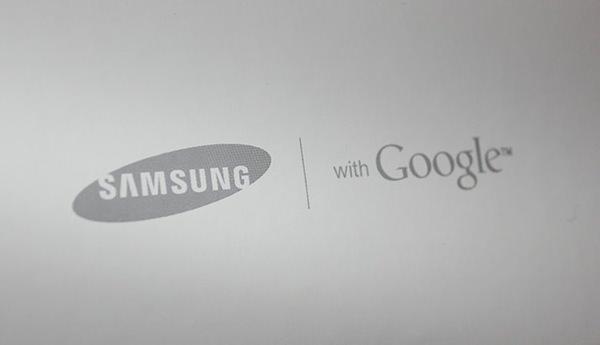 Samsung Google Logos