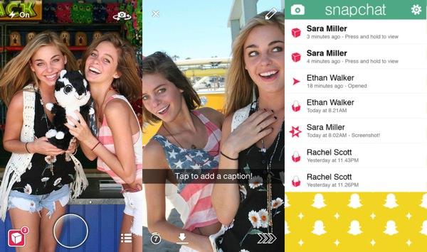 Snapchat Application