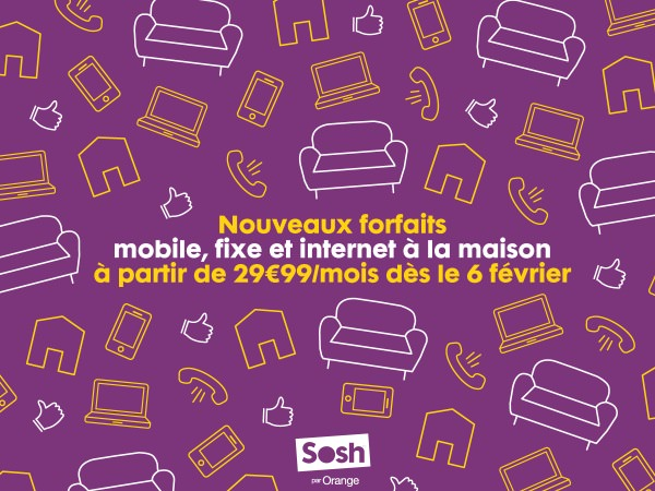 Sosh Mobile Livebox Janvier 2014