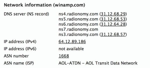 Winamp.com Radionomy