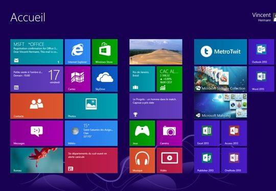 Windows 8 Interface