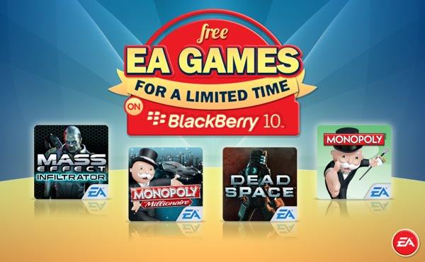 BlackBerry Jeux Electronic Arts Gratuits