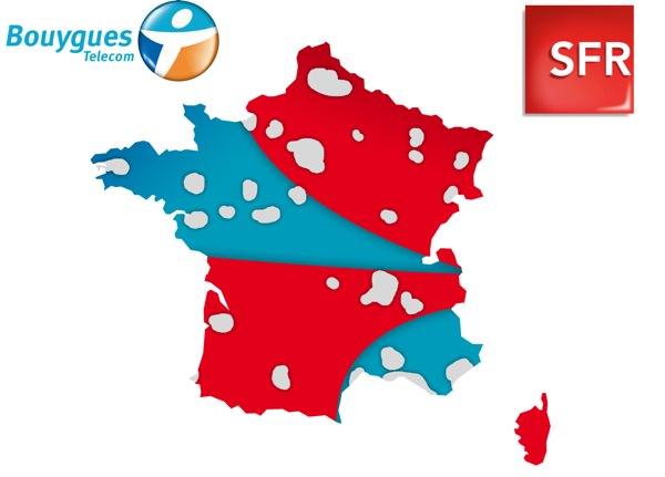 Bouygues SFR Couverture Commune