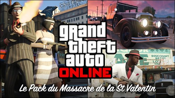 GTA 5 Pack Massacre Saint-Valentin