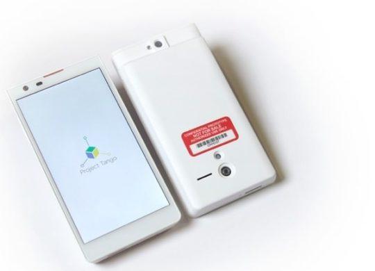 Google Projet Tango