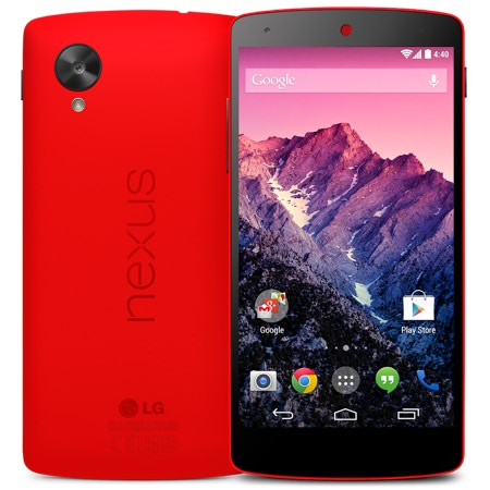 Nexus 5 Rouge Officiel