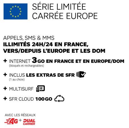 SFR Formule Carree Europe