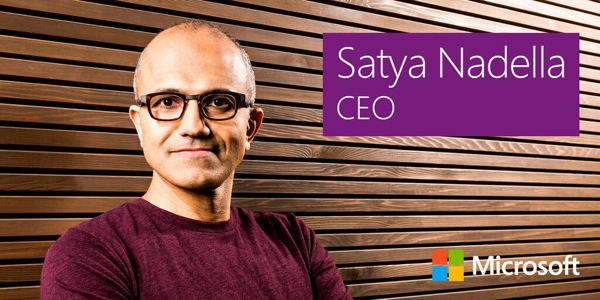 Satya Nadella Patron Microsoft