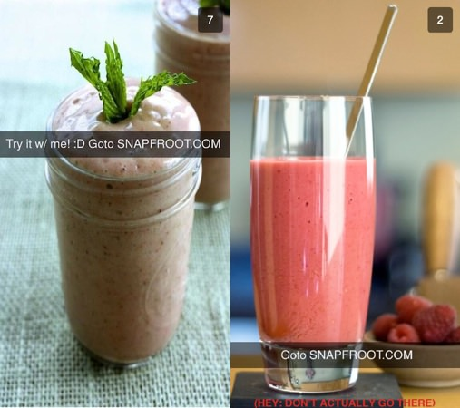 Snapchat Hack Smoothie