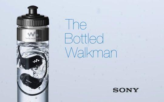 Sony Lecteur MP3 Bouteille Eau