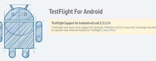 TestFlight Arret Support Android