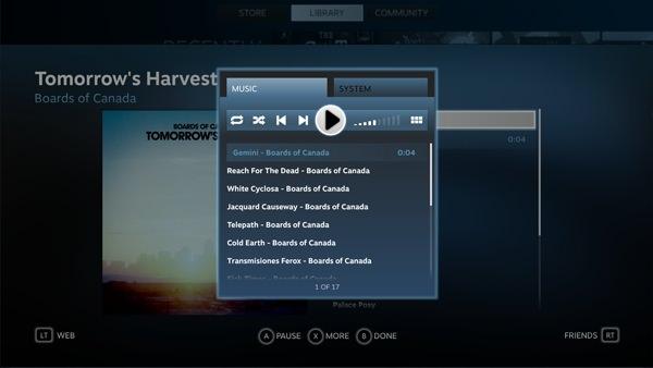 Valve Lecteur Musique SteamOS