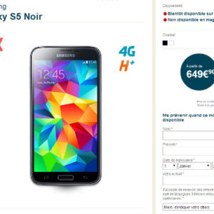 galaxy s5 site bouygues