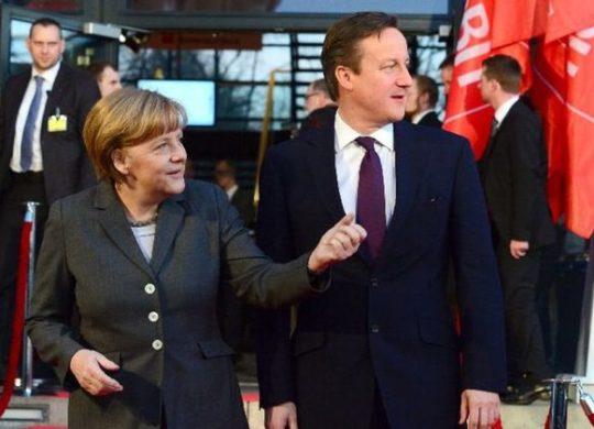 Angela Merkel David Cameron