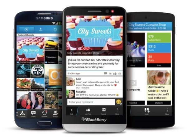 BBM BlackBerry Android