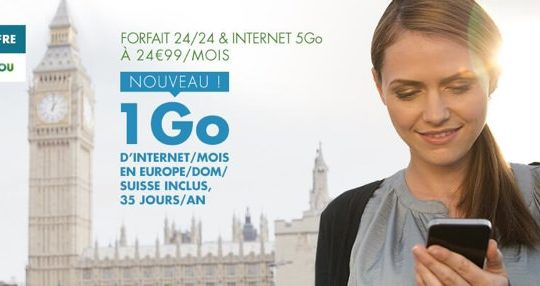 BandYou 1 Go Internet Europe DOM