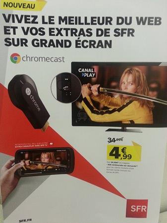 Chromecast SFR